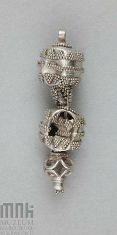 Poland - West Slavs - temple ring (damaged, fragment), 10th-11th century   Katalog MNK