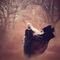 """Summoned"" — Producer: Bella Kotak​Photographer: Leigh Bishop​Designer: Kathryn LoveMakeup: Lydia Pankhurst"