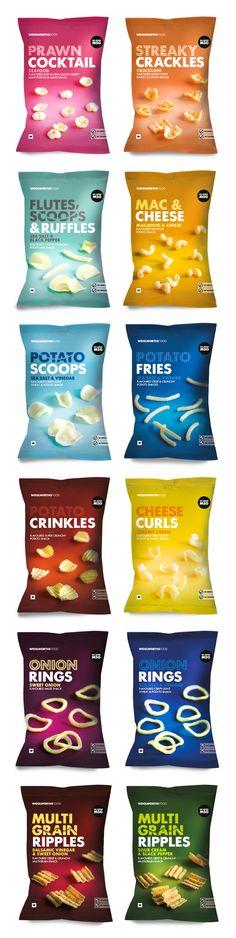 WOOLWORTHS SA - CHIPS by Lavanya Naidoo #packaging #design