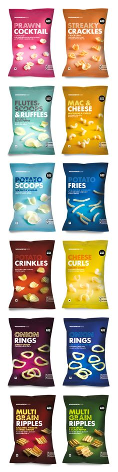 WOOLWORTHS SA - CHIPS by Lavanya Naidoo, via Behance