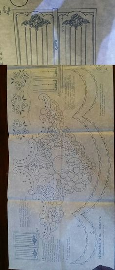 Lace Patterns, Vintage Patterns, Embroidery Patterns, Hand Embroidery, Point Lace, Cutwork, Tablecloths, Madonna, Gallery