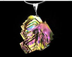 ON SALE Bismuth Necklace Boho Jewelry from a Bismuth by Element83