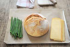 Pain dégoulinant de fromage à partager - Amuses bouche