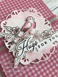 Vicki Boucher Stampin' Up! Demonstrator Australia: Stampin' Up! Week 51 Art With. Bird Cards, Butterfly Cards, Flower Cards, Kirigami, Stampin Up Catalog, Stamping Up Cards, Tampons, Paper Pumpkin, Creative Cards