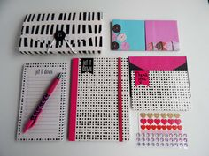 Jot It Down Decorating Kit// Organizational Kit for Planners, Journals & Scrapbooking // Target One Spot // Set Five