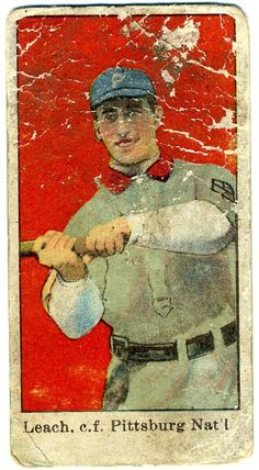Poor Old Baseball Cards: 1909 E90-1 American Caramel Tommy Leach