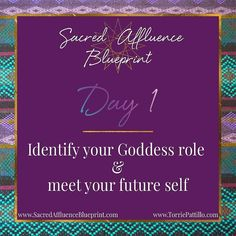 """The FREE Sacred Affluence Blueprint series began last night but you can still access the content for Day 1 for 19 more hours.  At the end of the 5 days you will:  understand how to uncover embody and """"Go Pro"""" with your Divine Purpose. #SoulOnFleek  discover the secrets for using your intuition to connect with your soul and receive guidance from your Divine Posse to support your dreams.  create your personal blueprint for Sacred Affluence so you can begin manifesting money opportunities and…"""
