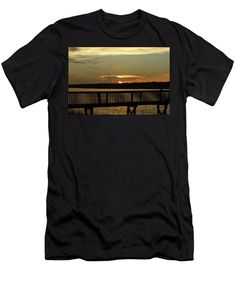 Sun Men's T-Shirt (Athletic Fit) featuring the photograph A Dreamy View by Cynthia Guinn