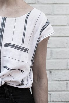 local milk + hackwith design house: the chandler shirt by Beth Kirby | {local milk}, via Flickr