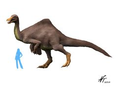 Deinocheirus - Nobu Tamura - Prehistoric life