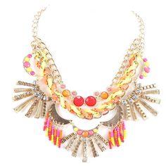 Staff Love That!  Lulu bib necklace, ML Accessories by Monique Leshman, $110