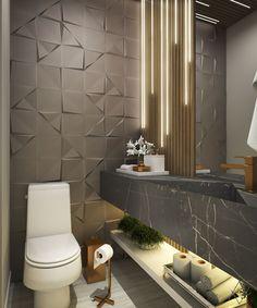 Simple Bathroom Designs, Bathroom Design Luxury, Modern Bathroom Design, Interior Design Kitchen, Home Room Design, Home Design Decor, Small Toilet Design, Ideas Baños, Lavabo Design
