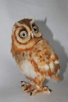 red owl By Averina Olesya - Bear Pile