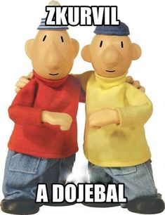 Pat and Mat is a stop-motion animated series that was created by Lubomír Beneš and Vladimír Jiránek. The show is called A je to! Series Online Free, Famous Duos, Cartoon Wallpaper Iphone, Books You Should Read, Funny Memes, Jokes, Cartoon Characters, Fictional Characters, Busy Book