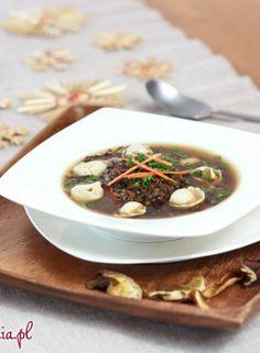 Klasyczna zupa grzybowa