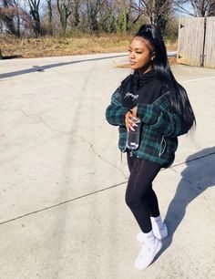 baddie outfits with jeans Chill Outfits, Cute Casual Outfits, Swag Outfits, Dope Outfits, Black Girl Fashion, Look Fashion, Teen Fashion, Fashion Outfits, Fashion 2016