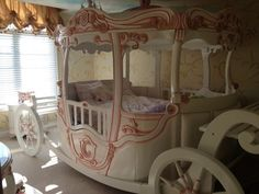 Fairytale Princess Cinderella Inspired Theme Bedroom Amazing | eBay Really really want this!!!