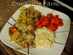 All Because 2 People Fell In Love...: Hamburger Tater Tot Casserole