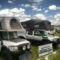 American Adventurist community camp at Overland Expo, Flagstaff AZ 2013