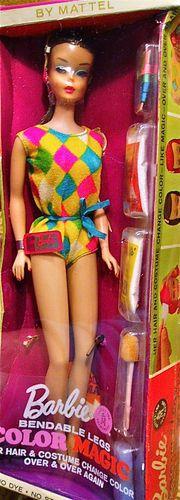 Vintage Barbie Ultra RARE NRFB MIB Midnight Color Magic