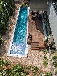 Stock Tank Swimming Pool Ideas, Get Swimming pool designs featuring new swimming pool ideas like glass wall swimming pools, infinity swimming pools, indoor pools and Mid Century Modern Pools. Find and save ideas about Swimming pool designs. Small Swimming Pools, Small Pools, Swimming Pools Backyard, Swimming Pool Designs, Garden Pool, Backyard Landscaping, Landscaping Ideas, Easy Garden, Swiming Pool