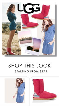 """""""Play With Prints In UGG: Contest Entry"""" by livingchic96 ❤ liked on Polyvore featuring UGG Australia, Comptoir Des Cotonniers, Polaroid and thisisugg"""