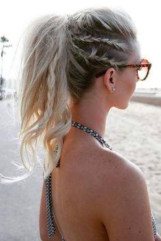 10 coiffures pratiques pour faire du sport avec style