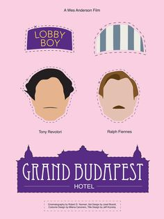Wes Anderson Movie Posters on Behance