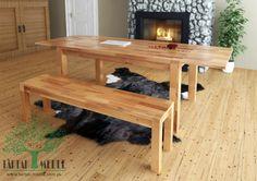 Stół Timo to piękna, klasyczna konstrukcja, która idealnie sprawdzi się w eleganckim salonie, jak i w pokoju studenta. #tartakmeble #sklep #meble #stół