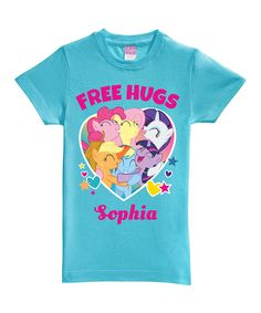 My Little Pony 'Free Hugs' Personalized Tee - Toddler & Girls