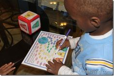 """Outer Space Theme...Using book """"Space Boy"""" from Totally Tots"""