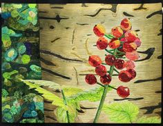 Woodland Berries, Annette Kennedy.  NQA 2013 Quilt Show Winner