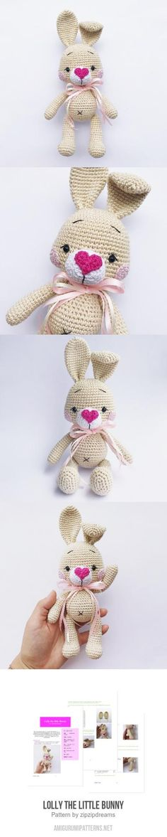 Lolly the little Bunny amigurumi pattern
