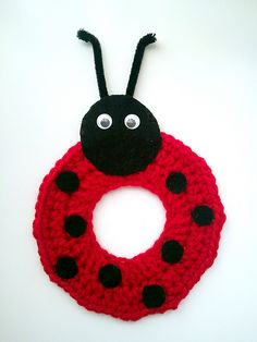 Ravelry: Crochet Ladybug Camera/Lens Buddy Pattern - Photography Prop pattern by Jessica Carey