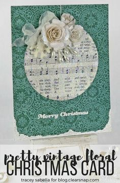 It's Tracey Sabella here with the Donna Salazar Designs Creative Team here to share a Project with you. Christmas is just around the corner, and I've been busy making handcrafted cards for friends and family. Of course I just have to … Continue reading →
