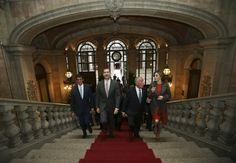 King Felipe and Queen Letizia Visit Portugal – Day 2 - Palácio da Bolsa... Lindo.... Porto, está claro!!!!