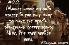 disneyland-secrets...a coffee secret, yes please!