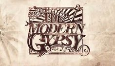 Path of The Modern Gypsy Illustration + Typography on Behance