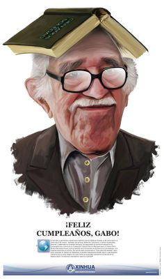 Gabriel Garcia Marquez birthday Gabriel Garcia Marquez, Garcia Marques, Ap Spanish, Editorial Design, Fiction, Author, Culture, My Favorite Things, Birthday