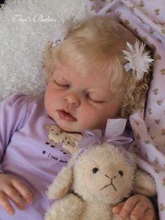 Tesa's Babies Toddler Reborn Girl Sleeping Arianna Reva Schick