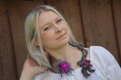 DIY KIT Tutorial + KIT/ Anleitung und Material/ Thistle Diy Kits, Beading, Crochet Necklace, Etsy, Design, Necklaces, Tutorials, Beads, Crochet Collar