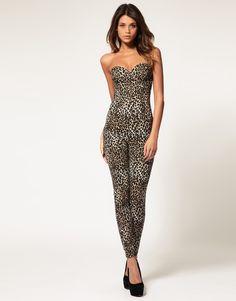 love this leopard jumpsuit