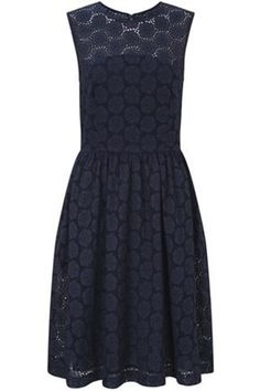 French Connection  ORIENT EYELETS DRESS