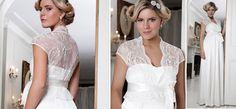 Catherine Spitzen-Jäckchen aus der Kategorie Braut Umstandsmode von Mamarella - Details