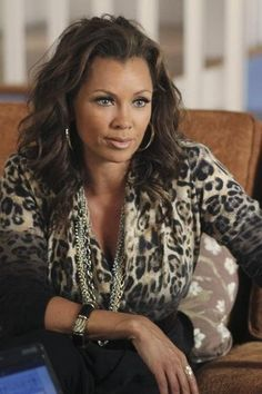 Vanessa Williams in Desperate Housewives//she was great and she might make a great character in a book