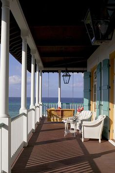 I wish this were my front porch...what a view to wake up to.