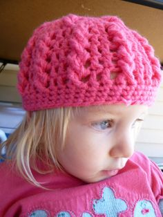 Infant Hat in Simple Cables « The Yarn Box The Yarn Box