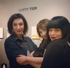 Nya! Lindsey och Bandit Way med Jessicka Addams La Luz de Jesus >> LYN-Z AND JESSICKA OMFG TWO OF MY FAVS (also Bandit looks adorable)