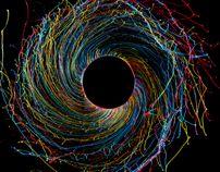 Black Hole by Fabian Oefner, via Behance