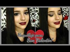 Maquillaje en tonos grises para San Valentín! 💘